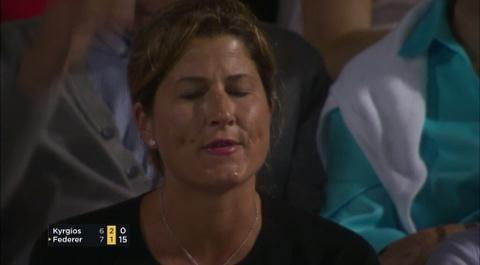 Vo Federer la o 'ga trai hu' Kyrgios hinh anh 2