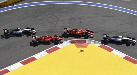 Vettel tuot danh hieu Russian GP vao tay cai ten bat ngo hinh anh 3