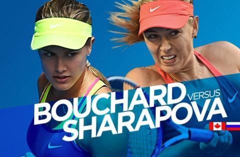 Sharapova co co hoi 'day do' Bouchard o Madrid Open hinh anh