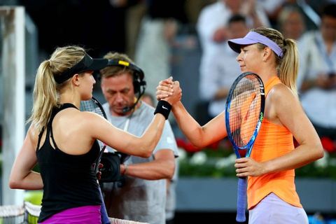 Sharapova that bai trong cuoc chien voi Bouchard hinh anh 7