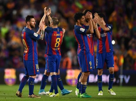 Messi buon rau trong ngay Real doat ngoi vuong La Liga hinh anh 3