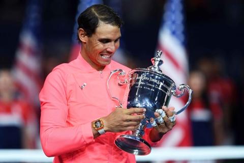 Nadal va vat bat ly than gan 1 trieu USD chinh phuc US Open hinh anh