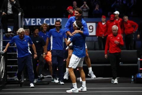 Nadal phan khich om Federer - nguoi hung giup tuyen chau Au vo dich hinh anh 9