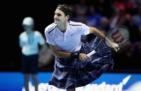 Federer mac vay danh bai Murray hinh anh
