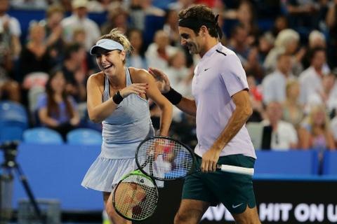 Federer gianh danh hieu dau tien trong nam moi hinh anh 6