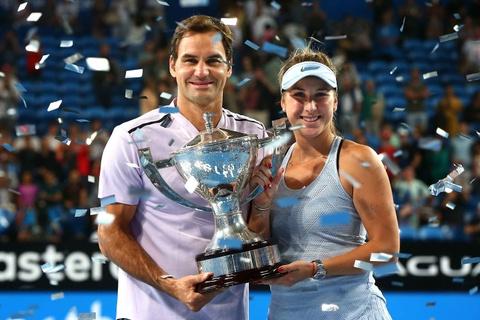 Federer gianh danh hieu dau tien trong nam moi hinh anh 8