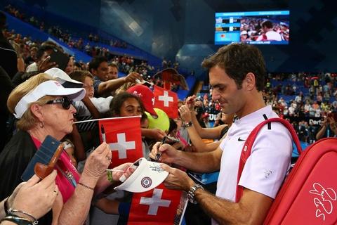 Federer gianh danh hieu dau tien trong nam moi hinh anh 3