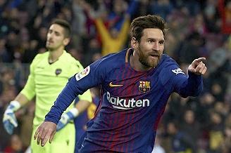 Messi toa sang, Barca thang dam de bo xa Real 17 diem hinh anh