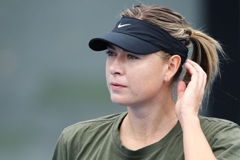 Sharapova hang say tap luyen cho tai xuat Australian Open hinh anh 3