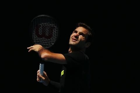 Sharapova hang say tap luyen cho tai xuat Australian Open hinh anh 6