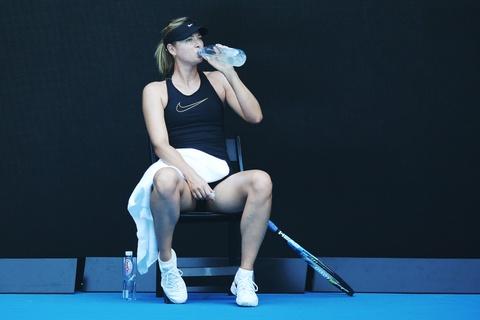 Sharapova hang say tap luyen cho tai xuat Australian Open hinh anh 4