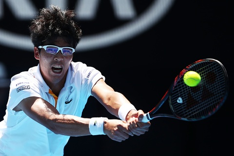 Tay vot Han Quoc vao ban ket Australian Open hinh anh
