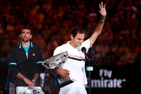 Federer dam nuoc mat tren buc nhan Grand Slam thu 20 hinh anh 3