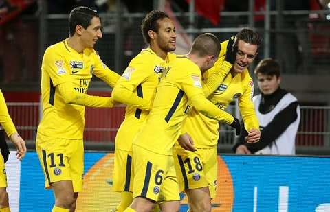 Highlights Lille 0-3 PSG hinh anh