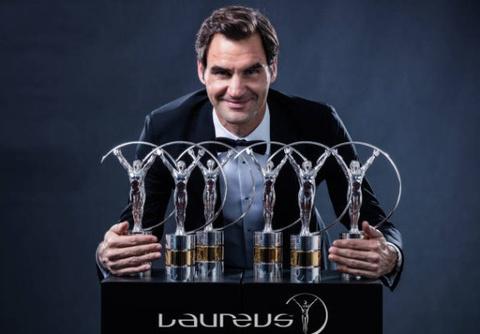 Federer tri an Nadal tren buc nhan giai 'Oscar the thao' hinh anh