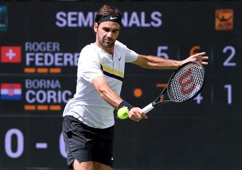Federer doi dau Del Potro o chung ket Indian Wells hinh anh