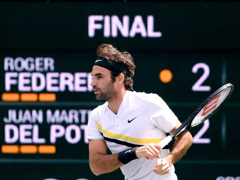 Highlights chung ket: Federer 1-2 Del Potro hinh anh