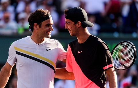 Highlights Federer 1-2 Kokkinakis hinh anh