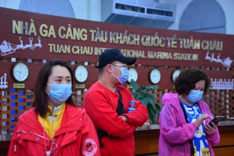 Gan 7.000 khach Trung Quoc den Quang Ninh trong 3 ngay Tet hinh anh
