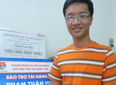 Xong dat nha Pham Tuan Huy - HCV toan quoc te 2013 hinh anh