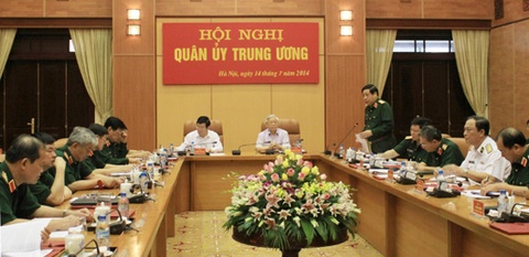 Quan uy Trung uong: 'Duy tri cac che do san sang chien dau' hinh anh