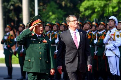 Viet - My tang cuong hop tac quoc phong hinh anh