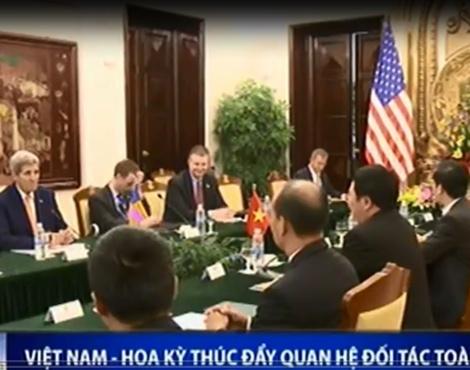 Viet Nam - Hoa Ky thuc day quan he hop tac toan dien hinh anh