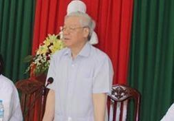 Tong Bi thu: Tim cach ung pho voi tinh trang han, ngap man hinh anh