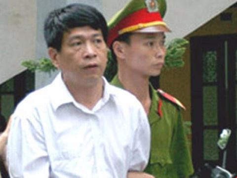 Cuu Tong giam doc PMU 18 Bui Tien Dung lam don xin dac xa hinh anh