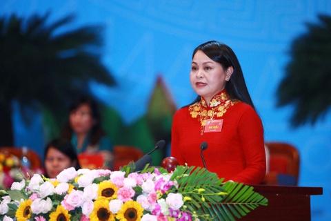 Ba Nguyen Thi Thu Ha tai dac cu Chu tich Hoi LHPN Viet Nam hinh anh