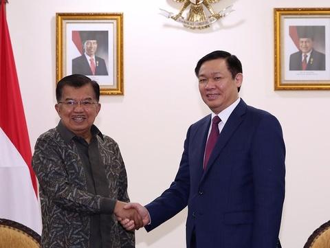 Viet Nam - Indonesia tang cuong hop tac kinh te, quoc phong hinh anh