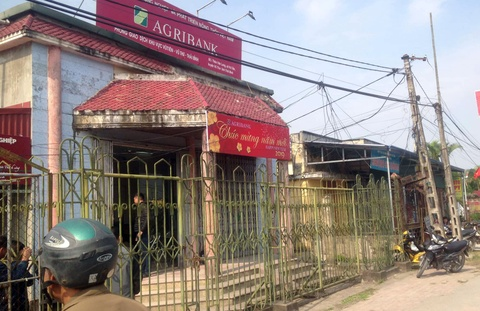 Truy tim ke cuop 200 trieu tai chi nhanh Ngan hang Agribank Thai Binh hinh anh