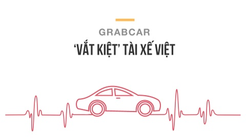 Grab 'vat kiet' tai xe Viet hinh anh 1