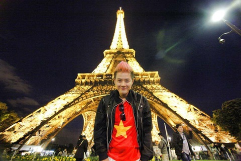 Thanh Duy Idol: Tra tien cho du lich Viet ma tuc hinh anh