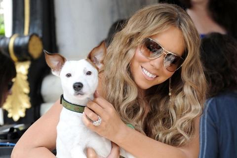 Mariah Carey chi 4,2 ty dong dua cun cung di nghi mat hinh anh