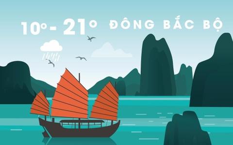 Thoi tiet ngay 8/12: Bac Bo chuyen ret dam, co noi duoi 8 do C hinh anh