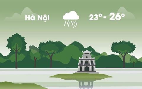 Thời tiết ngày 13/11: Hà Nội mưa rải rác, Sài Gòn nắng gián đoạn