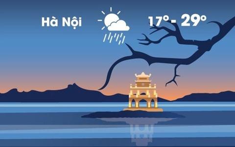 Thời tiết ngày 21/11: Hà Nội rét, thấp nhất 17 độ C