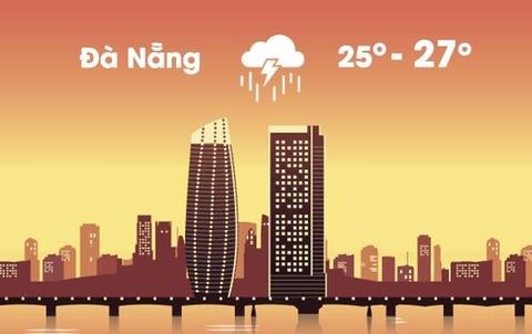 Thời tiết ngày 11/12: Đà Nẵng và nhiều tỉnh Trung Bộ mưa lớn