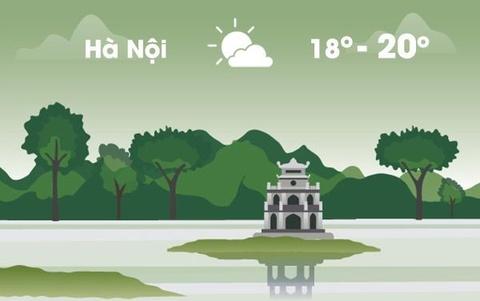 Thời tiết ngày 19/1: Hà Nội hửng nắng, Sài Gòn nóng 34 độ C