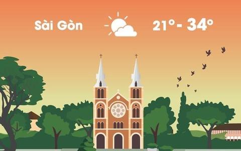 Thời tiết ngày 23/1: Sài Gòn có thể ngập lụt vài nơi vì triều cường