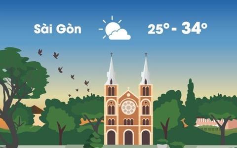 Thời tiết ngày 18/2: Sài Gòn giảm nắng nóng, Hà Nội mưa dông sáng sớm
