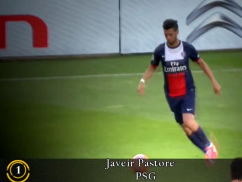 Javier Pastore kien tao hay nhat tuan qua hinh anh