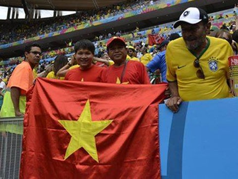 Phong su VTV: La co do sao vang tren khan dai World Cup hinh anh