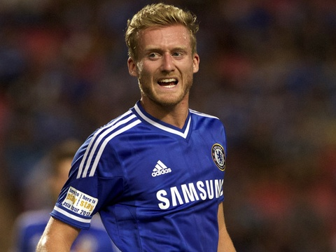 Andre Schurrle lap cong cho Chelsea hinh anh