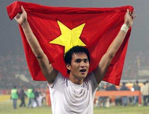 Cong Vinh ghi ban thang cho tuyen Viet Nam hinh anh