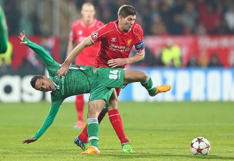 Highlights: PFC Ludogorets Razgrad 2-2 Liverpool hinh anh