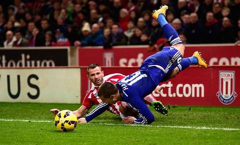 Chelsea lo lang vi Hazard chan thuong hinh anh