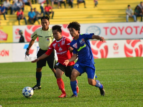 Highlights: DT Long An 2-1 Hoang Anh Gia Lai hinh anh
