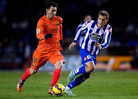 Man trinh dien cua Messi truoc Deportivo hinh anh
